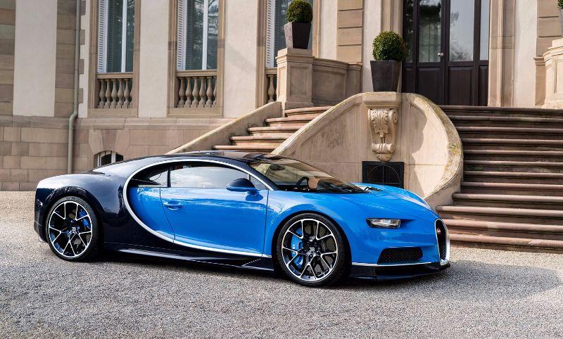 Bugatti Chiron apresentado em Geneve