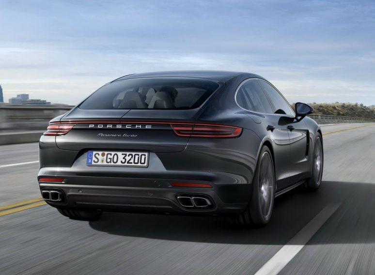 aluguer Novo Porsche Panamera 2017