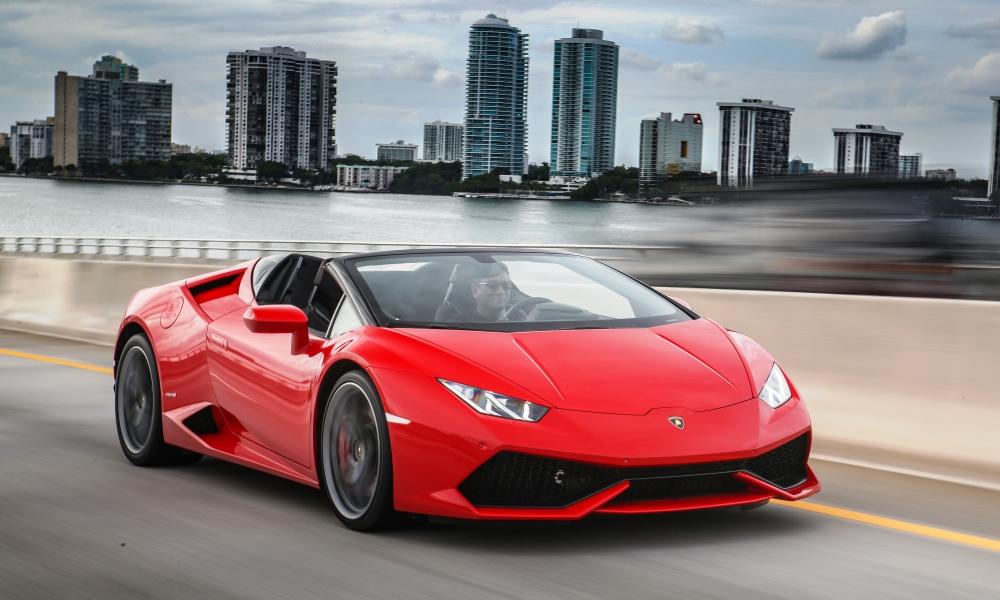 Aluguer Lamborghini Huracan spyder