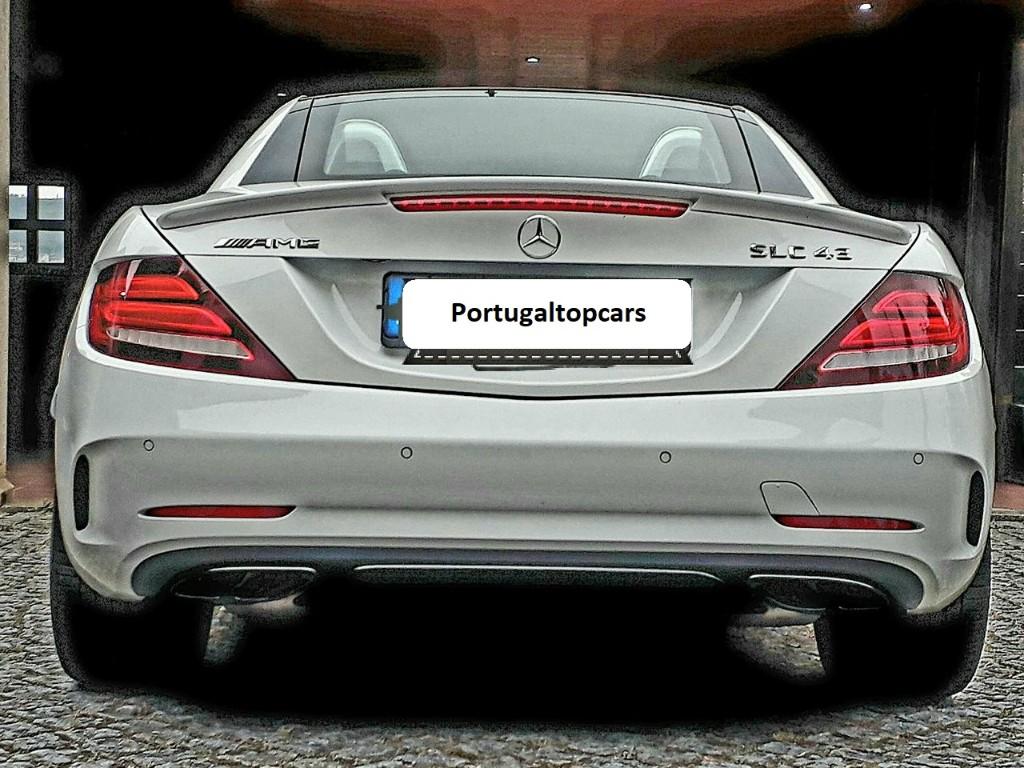 Aluguer Mercedes SLC 43 AMG Portugal