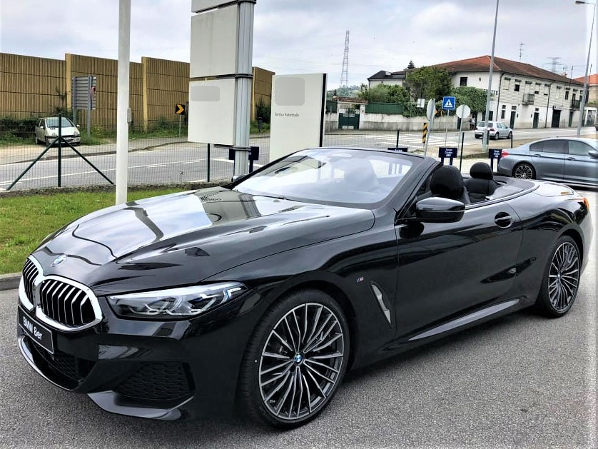 Aluguer BMW 8 Cabrio Lisboa