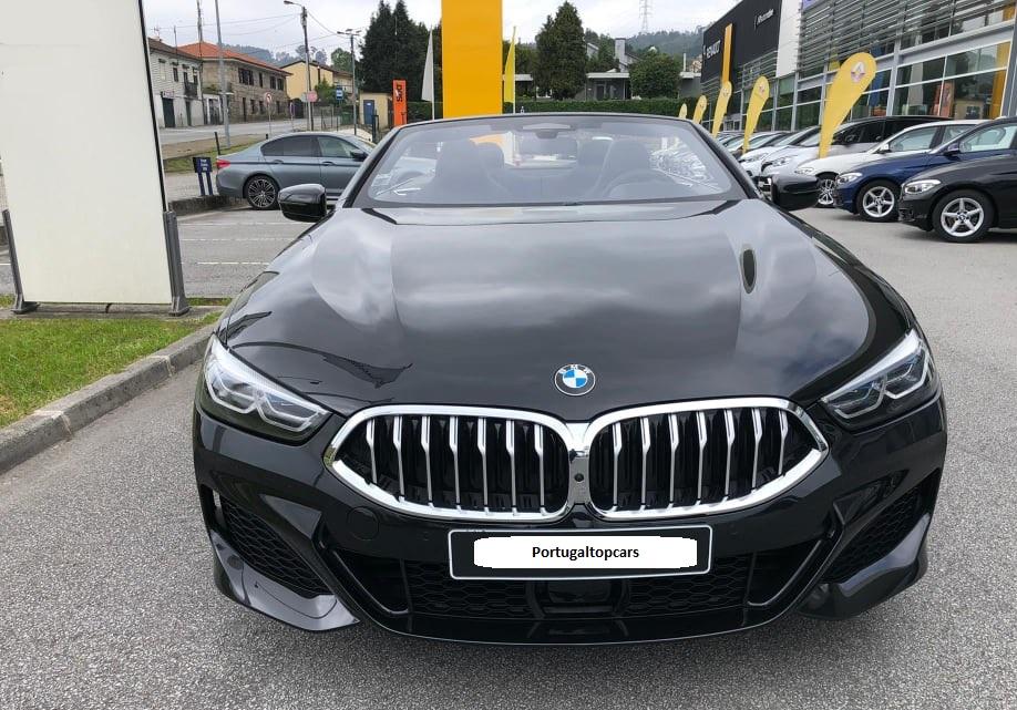 Aluguer BMW 8 Cabrio Algarve